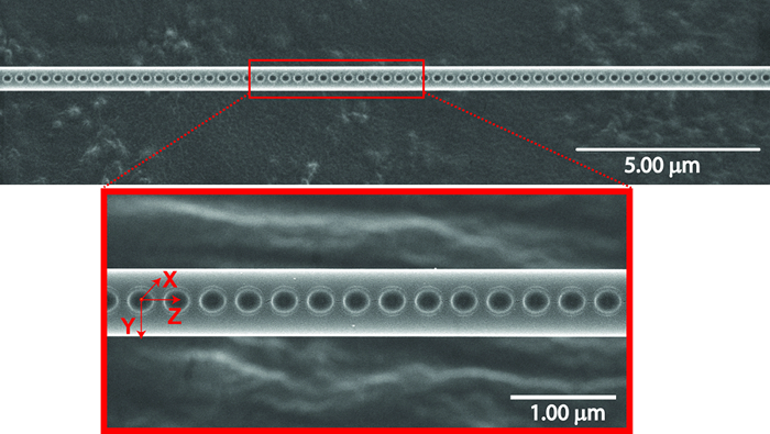 Integrating nanocavities into optical fibers with femtosecond laser ablation