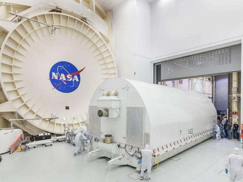 James Webb Space Telescope arrives at NASA's Johnson Space Center