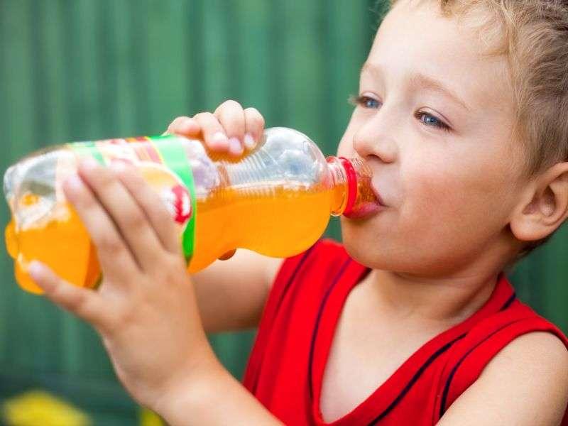 Kids' sugary drink habits start early