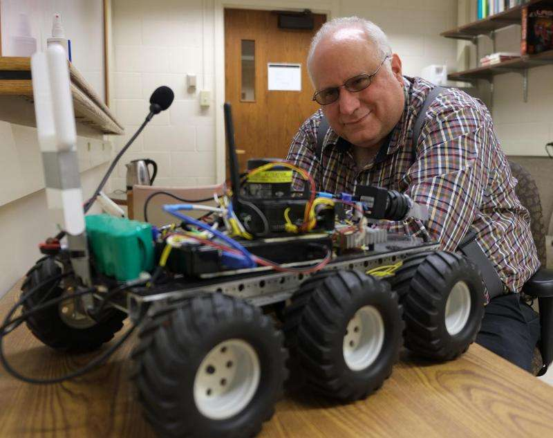 Language learning robot could advance autonomous vehicles, help emergency responders in the future