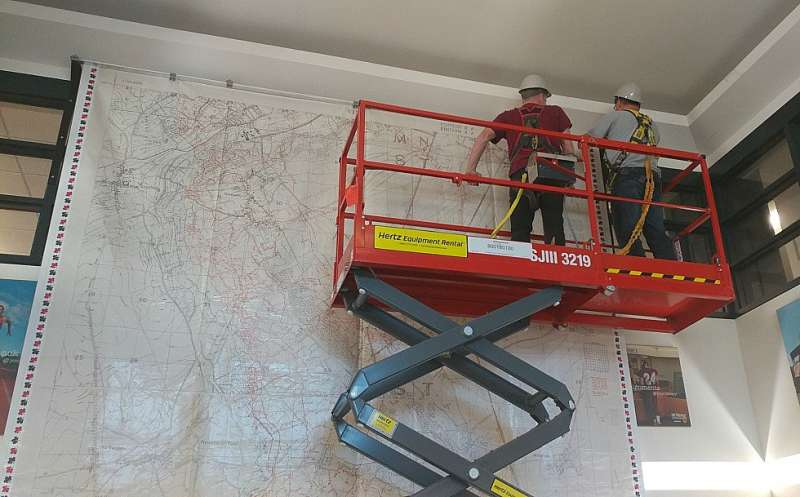 Large-scale map offers insights into the Battle of Vimy Ridge