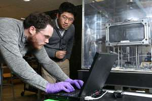 Laser printing with nanoparticles holds promise for medical research