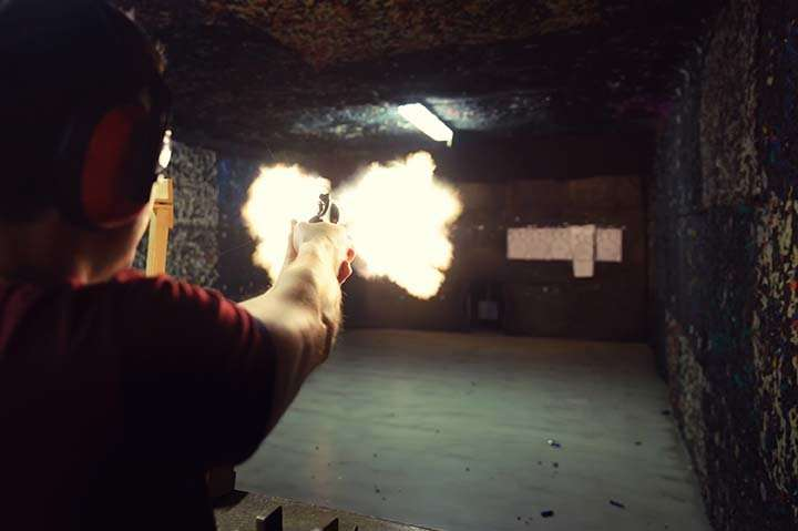 Lead poisoning a risk at indoor firing ranges