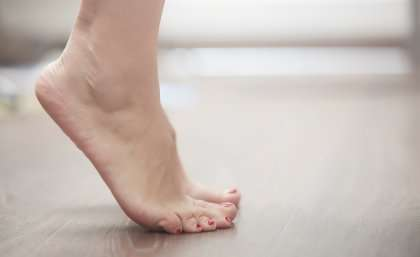 Learning to improve foot control in cerebral palsy
