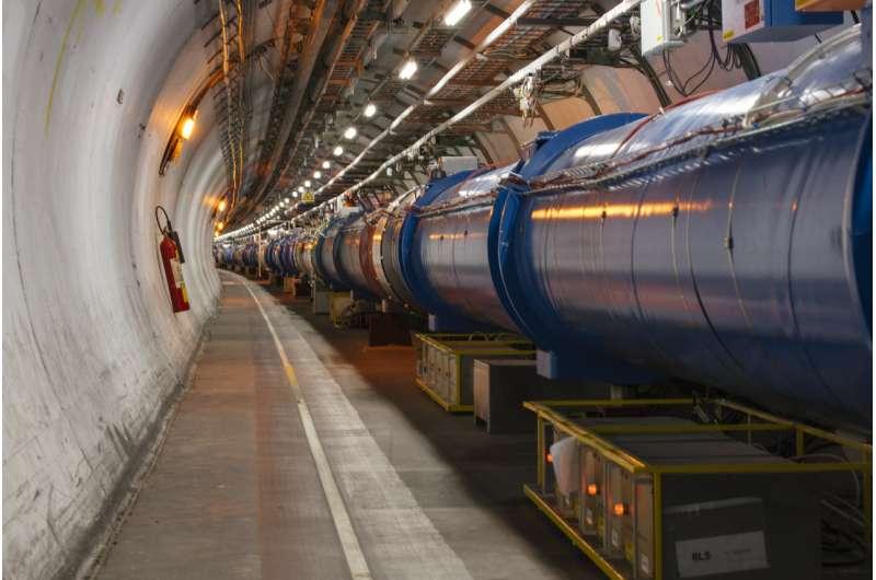LHC achieves record luminosity