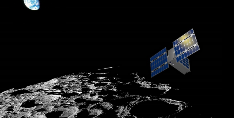 LunaH-map cubeSat to map the moon's water deposits