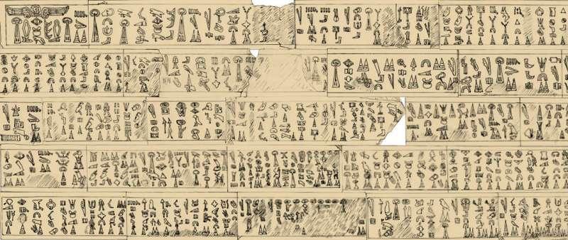 Luwian hieroglyphic inscription explains the end of the Bronze Age