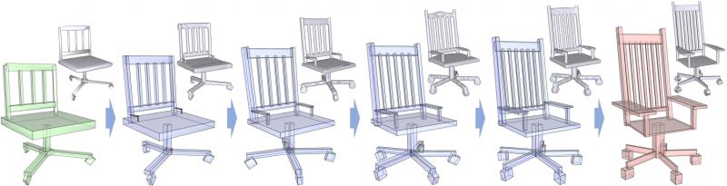Making data-driven 3-D modeling easier