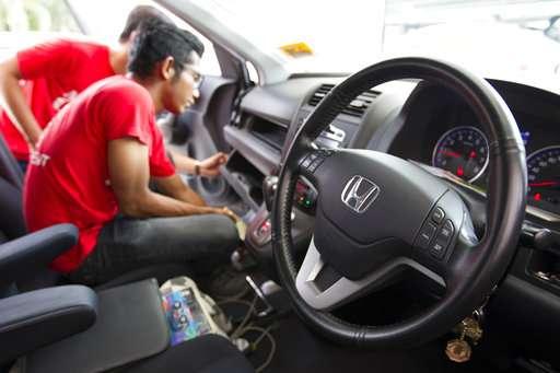 Malaysian family sue Honda, Takata in US over air bag defect