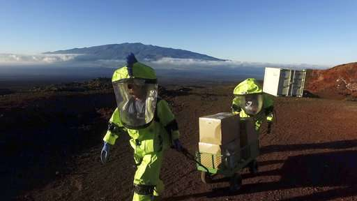 Mars research subjects to emerge after 8 months of isolation
