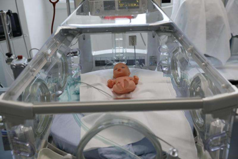 Medically monitoring premature babies with cameras