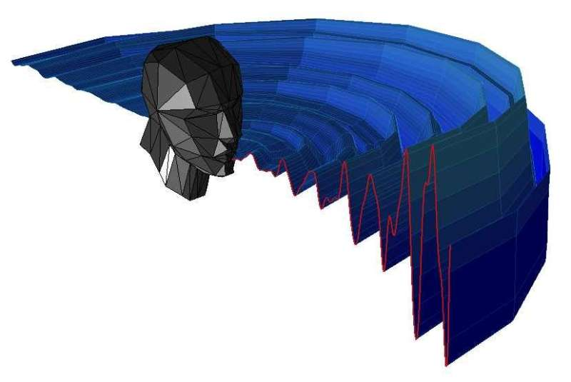 Mouth clicks used in human echolocation captured in unprecedented detail