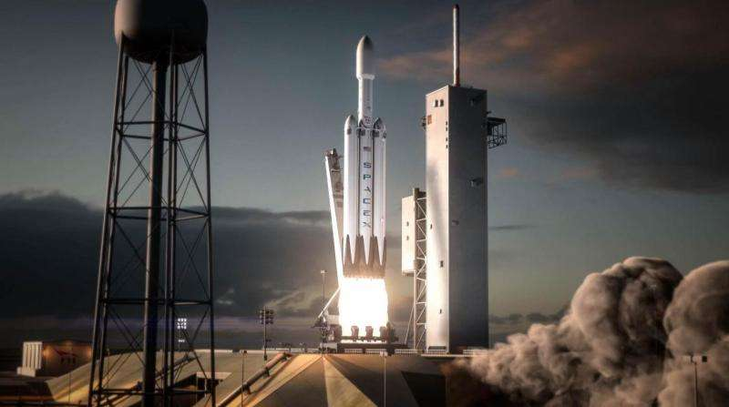 Musk says maiden Falcon Heavy rocket to launch in November, acknowledges high risk