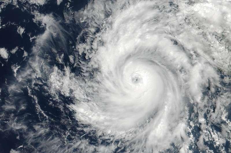 NASA captures Hurricane Dora at peak strength, before weakening began
