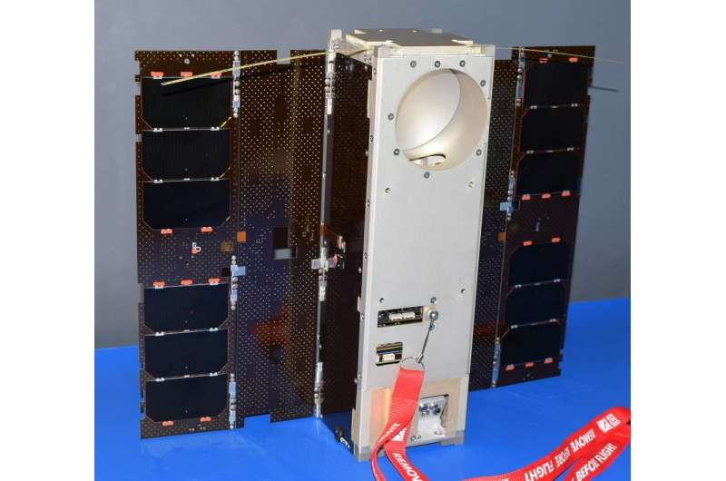 NASA CubeSat to test miniaturized weather satellite technology