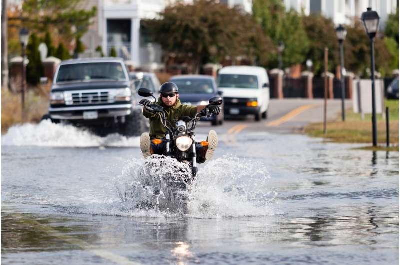 NASA finds Virginia metro area is sinking unevenly