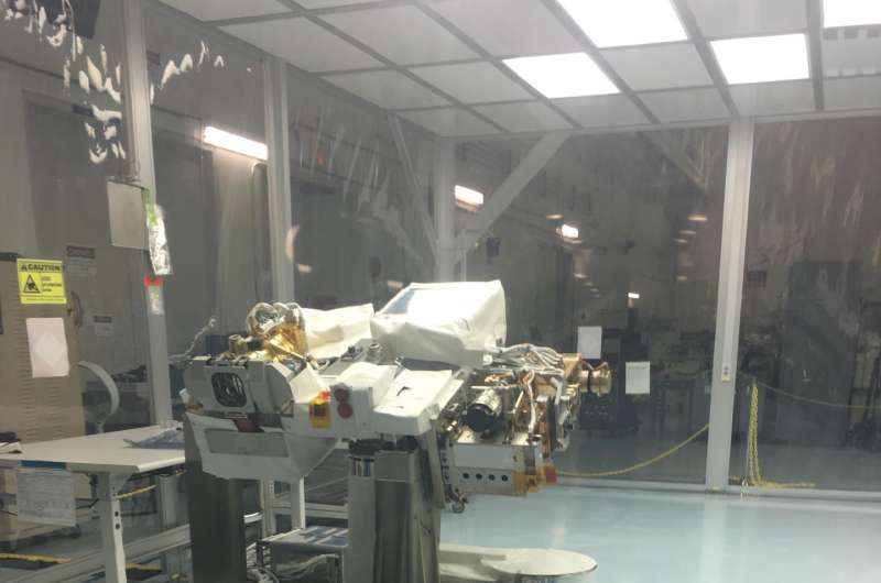 NASA instrument key to understanding solar powered planet arrives at Kennedy Space Center