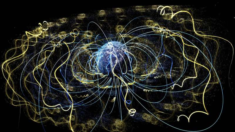 NASA listens in as electrons whistle while they work