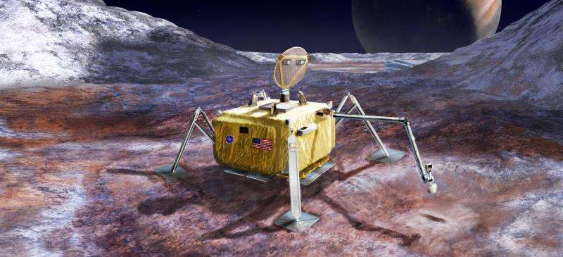 NASA receives science report on Europa lander concept
