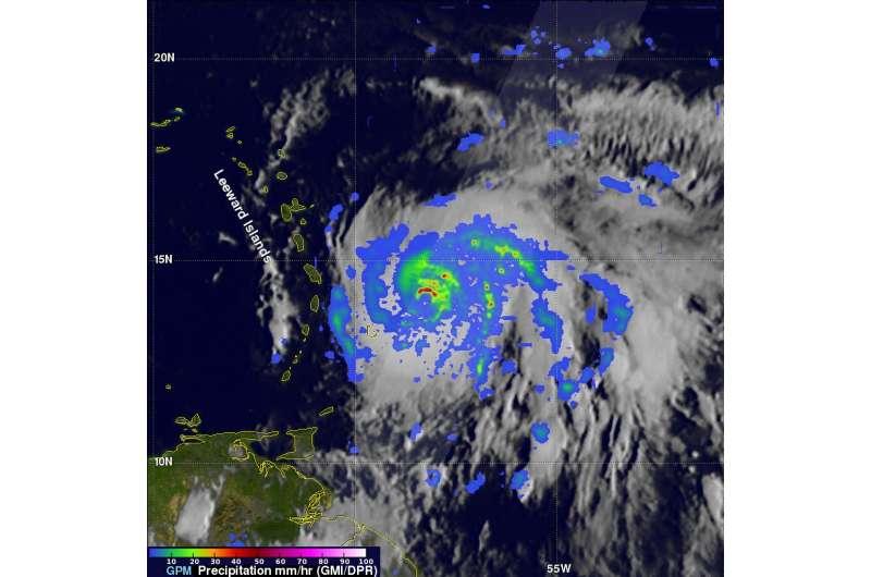 NASA sees Maria intensify into a major hurricane