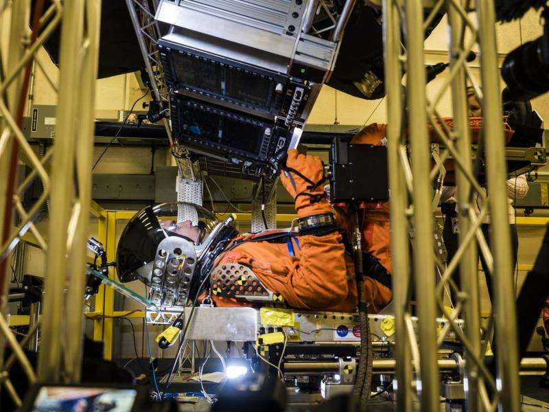 NASA simulates Orion spacecraft launch conditions for crew