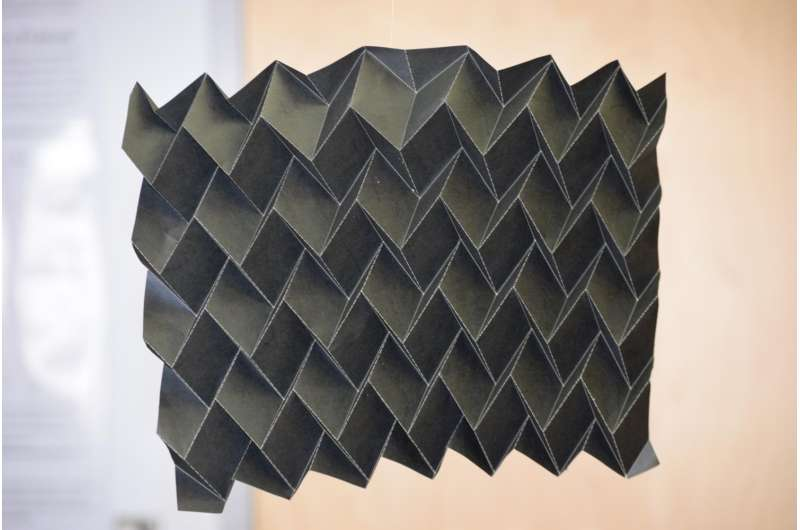 NASA's new shape-shifting radiator inspired by origami
