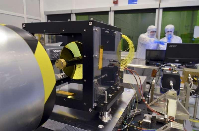 NASA taking first steps toward high-speed space 'internet'