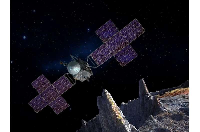 NASA tests thruster bound for metal world