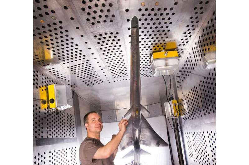 NASA wind tunnel tests X-plane design for a quieter supersonic jet