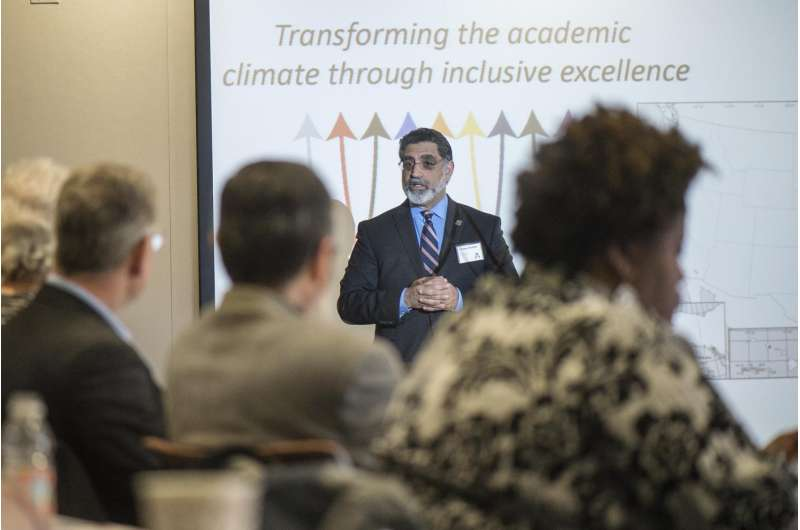 National initiative to increase number of faculty from under-represented minorities