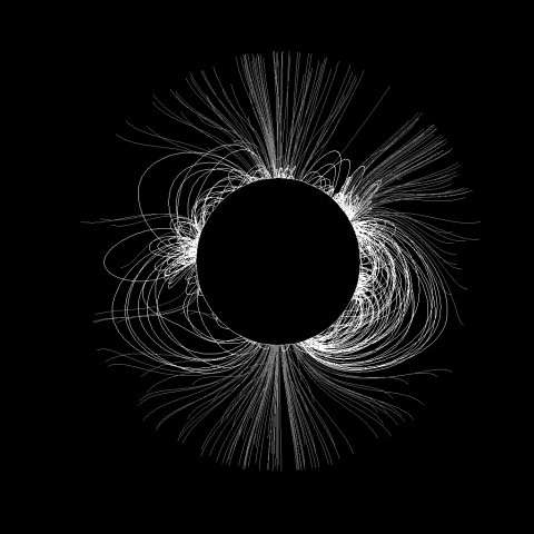 National Solar Observatory predicts shape of solar corona for august eclipse