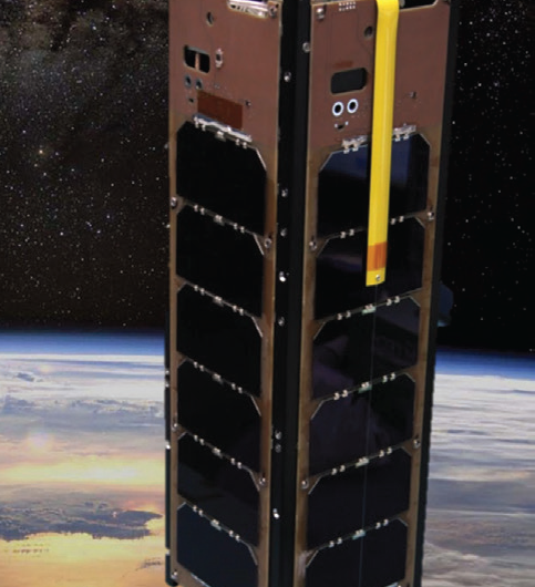 New Atmospheric Detector Technology Demonstrated on a CubeSat