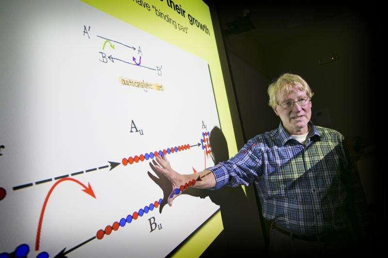 New computational model of chemical building blocks may help explain the origins of life