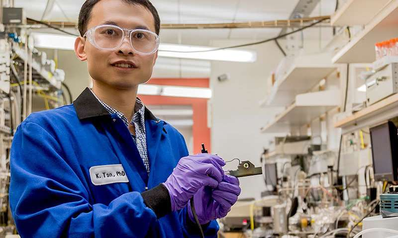 New study investigates effectiveness of nanoscale nuclear waste filter