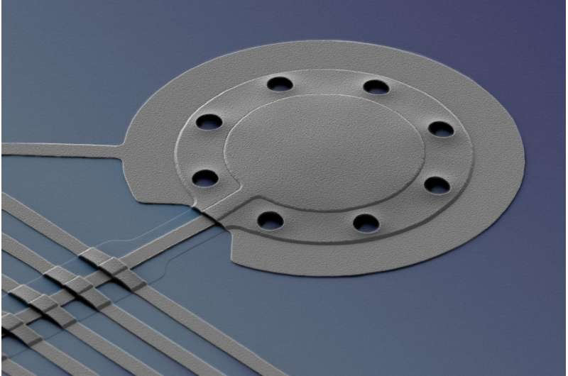 NIST physicists 'squeeze' light to cool microscopic drum below quantum limit
