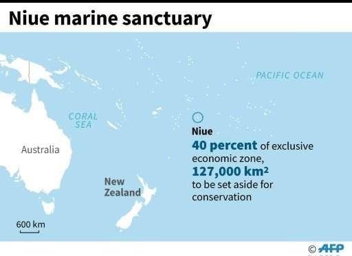 Niue marine sanctuary