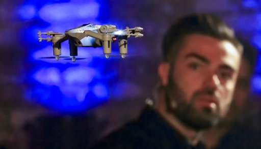 """Not droids: """"Star Wars"""" fighting drones hitting the air"""