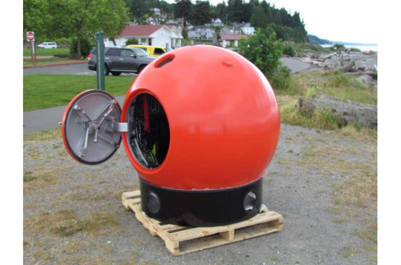 No time to run? Tsunami pod aims to save lives -- at a price