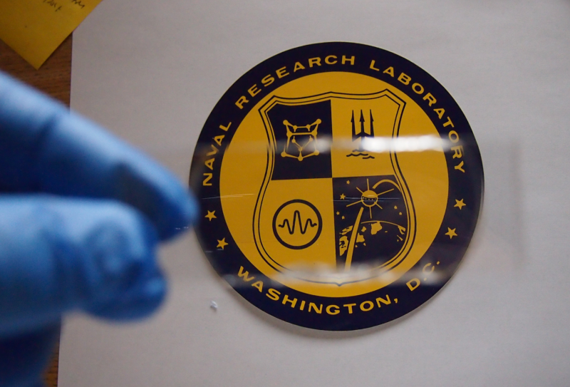 NRL develops lighter, field repairable transparent armor