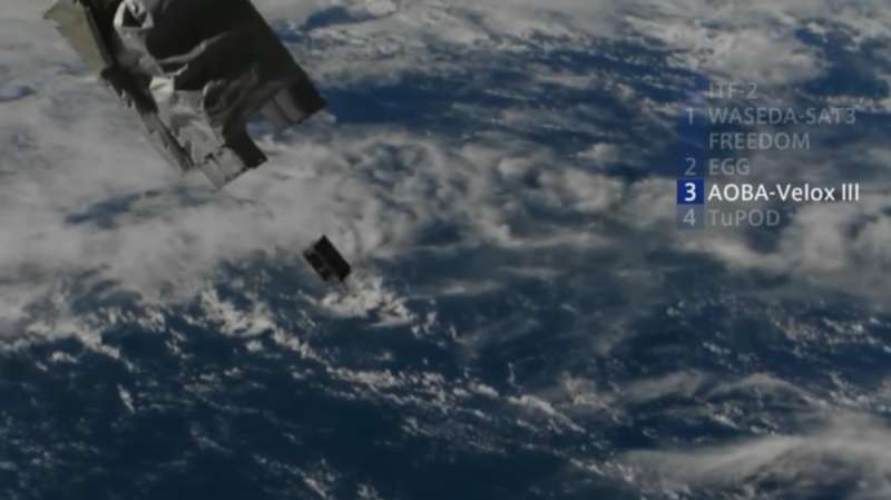 NTU successfully launches its 7th satellite into space