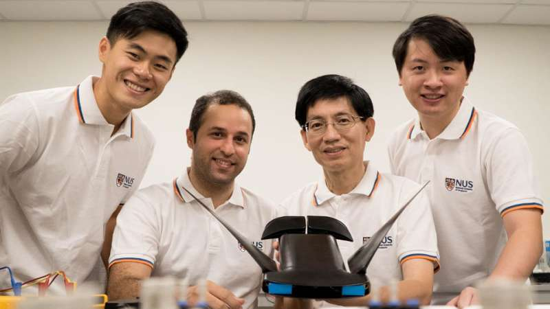 NUS-developed manta ray robot swims faster and operates up to 10 hours
