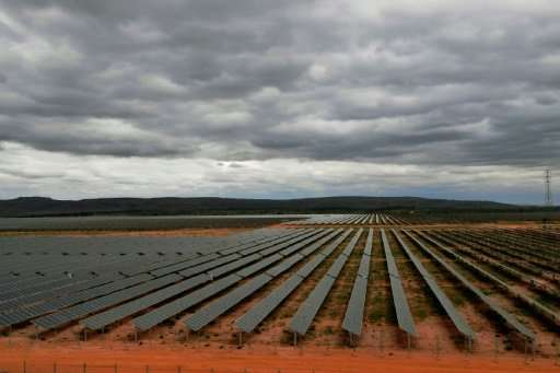 Only 0.2 percent of Brazil's electricity production currently comes from solar, according to government figures