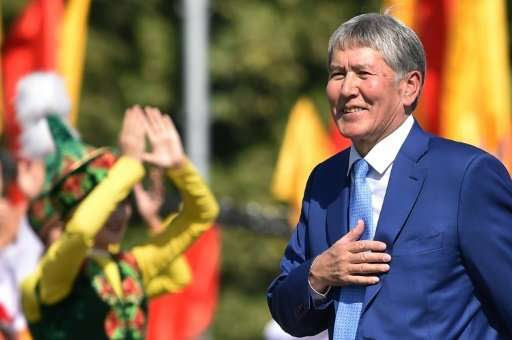 "Outgoing Kyrgyz President Almazbek Atambayev has condemned the reburial of a 1,500-year-old mummy, blaming ""pseudo-Muslims&"