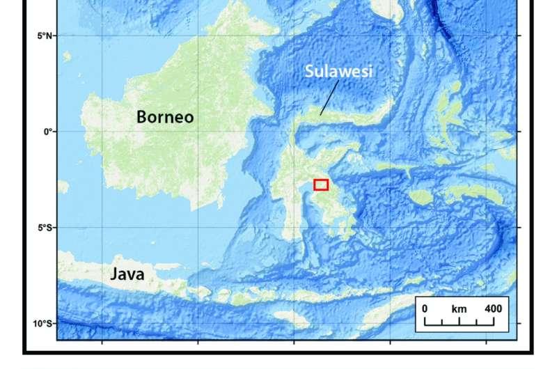 Paleolake deposits on Mars might look like sediments in Indonesia