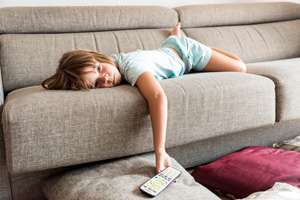 Parents' presence when TV viewing with child affects learning ability