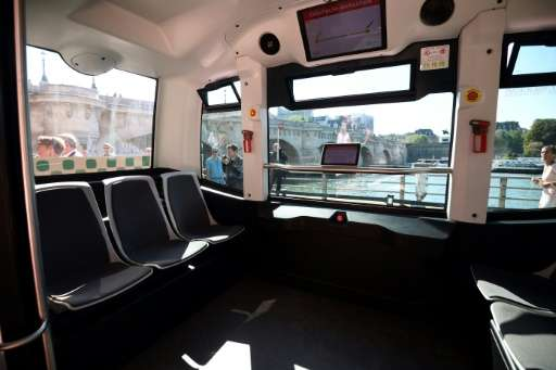 Paris' driverless buses use a combination of lasers and cameras to detect other objects and people around them