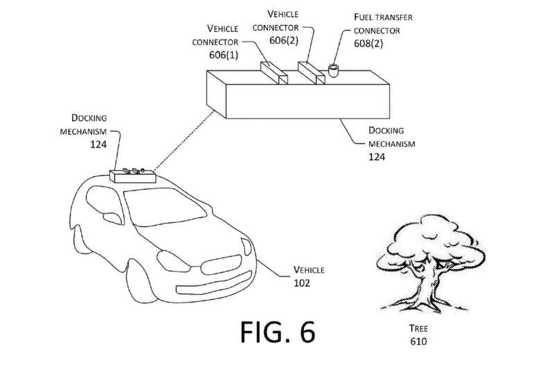 Patent talk: Amazon looks at drones juicing up electric vehicles
