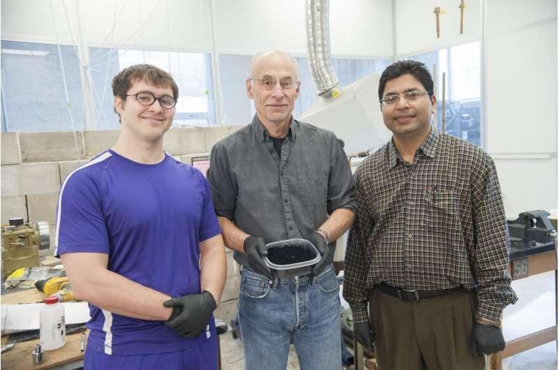 Physicists patent detonation technique to mass-produce graphene