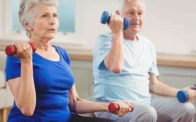 Poorer health influences muscle strength in later life