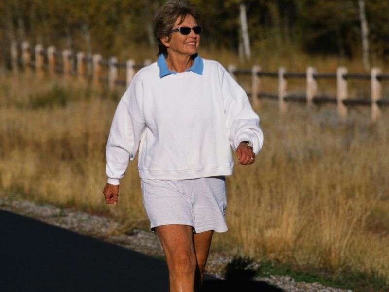 Post-menopausal? give exercise a try